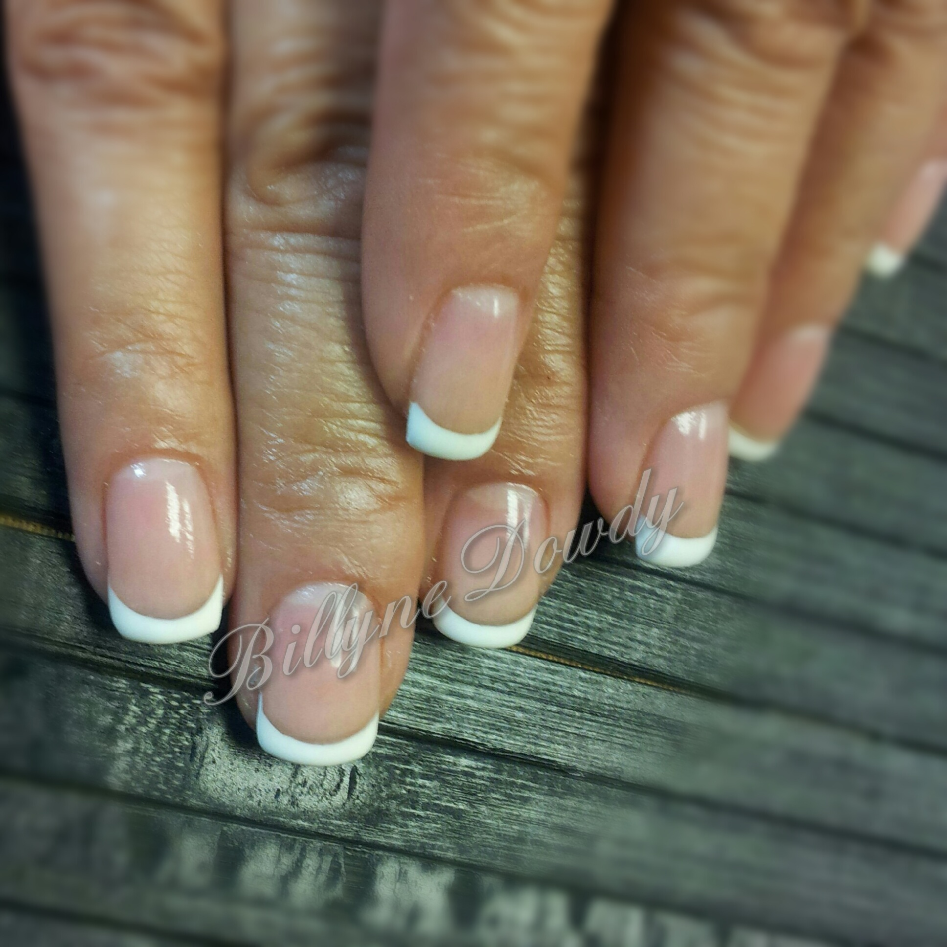 French Manicure on Natural Nails ⋆ Billyne\'s Nail & Lash Studio
